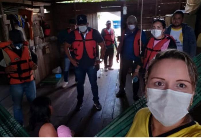 image for Apoio prestado à equipe de saúde indígena de bom caminho