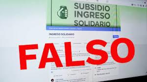 image for Falsas páginas prometen inscripción a programa Ingreso Solidario