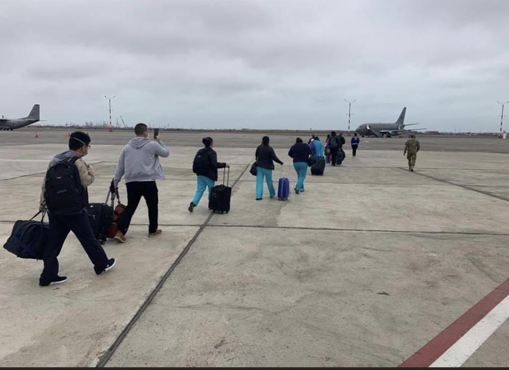 image for Parten a Iquitos nuevamente 37 profesionales de la salud