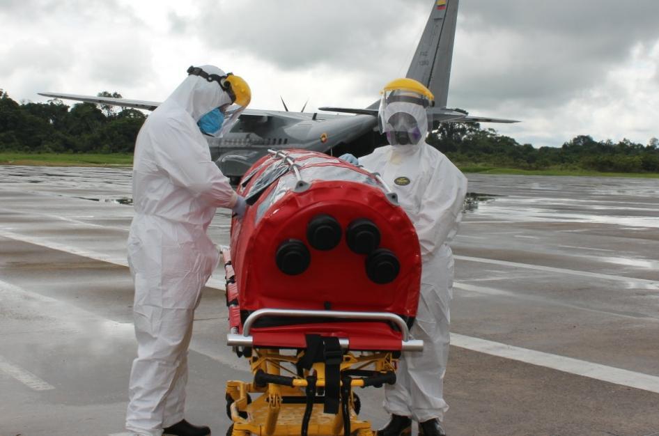 image for Fuerza Aérea traslada paciente en delicado estado de salud