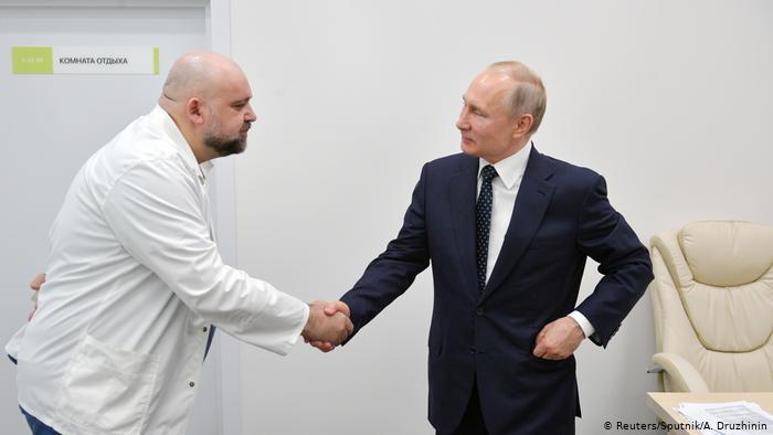 image for Putin trabajará desde la distancia debido al avance de la pandemia