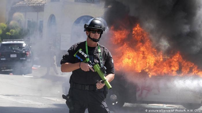 image for Policía disparó contra un equipo de televisión de DW