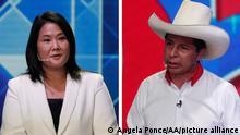 image for Pedro Castillo y Keiko Fujimori disputará presidecia de Perú en segunda vuelta