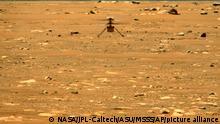 image for Ingenuity vuela más lejos y más rápido en Marte