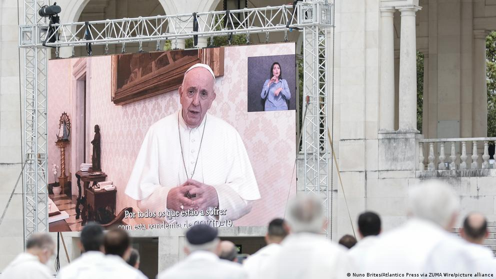 image for Pope says he feels ashamed