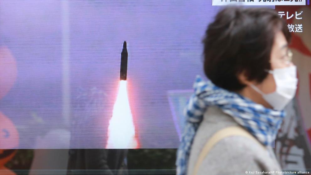 image for Corea del Norte lanza al mar proyectil no identificado