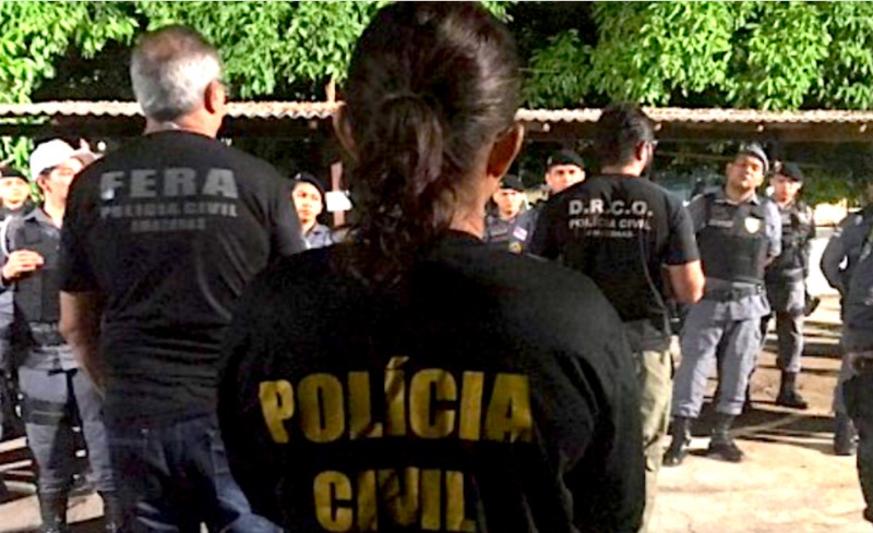 image for Treze pessoas foram presas no interior do Amazonas