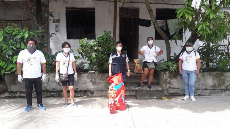 image for Coronavirus - Alcaldesa de Punchana entrega alimentos para animalitos abandonados