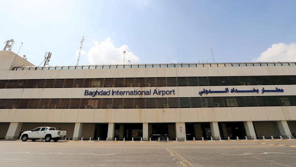 image for Misiles caen cerca del aeropuerto internacional de Bagdad