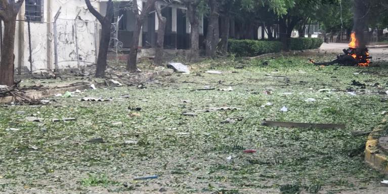 image for Carro bomba en batallón de Cúcuta