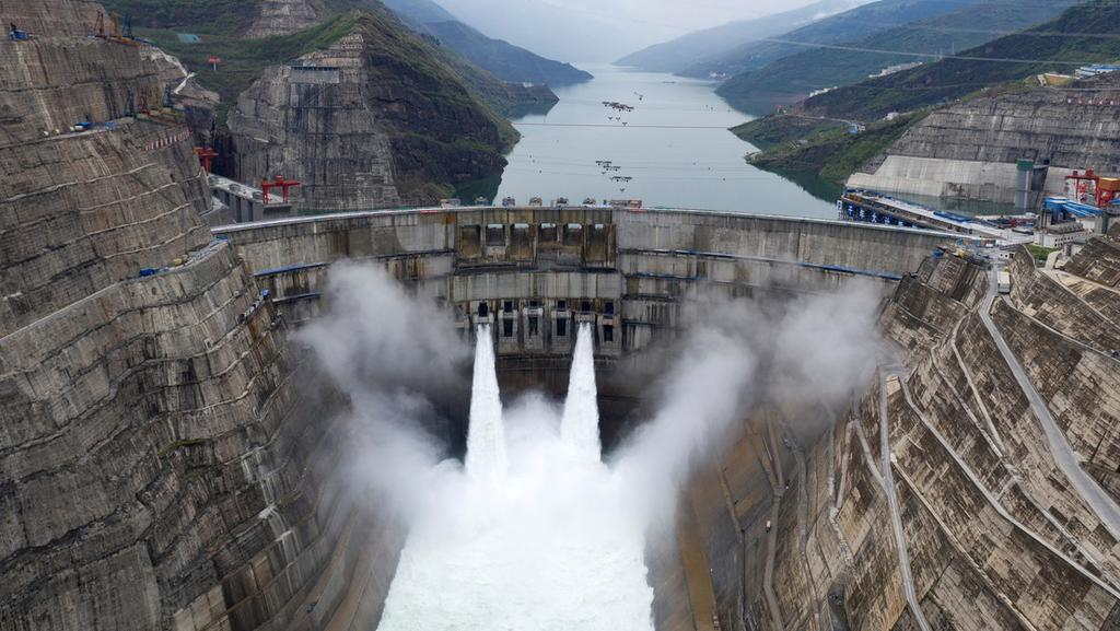 image for Hidroeléctrica China la segunda más grande que genera energía en el mundo