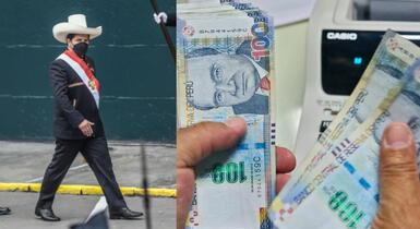 image for Bono de 700 soles que entregará Pedro Castillo