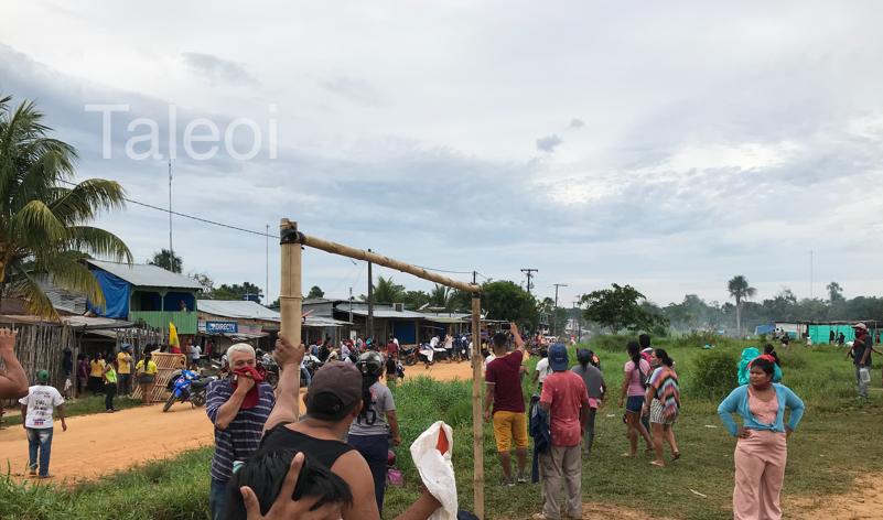image for Desalojo de 600 familias en invasión del barrio Iane
