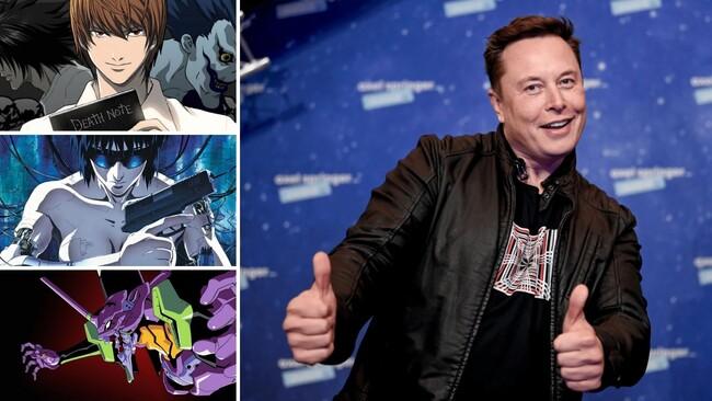 image for Animes favoritos the Elon Musk