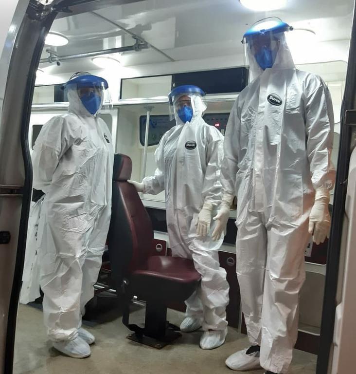 image for Profissionais da saúde do Hospital José Mendes