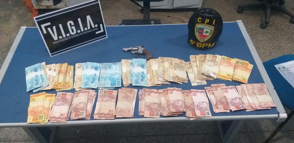 image for Policiais Militares prenderam dois infratores