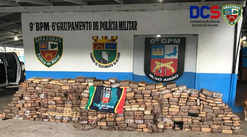 image for Polícia Militar apreende 920 kg de drogas