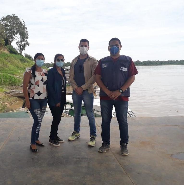 image for Equipe de saúde para comunidade e Pelotão de Fronteira