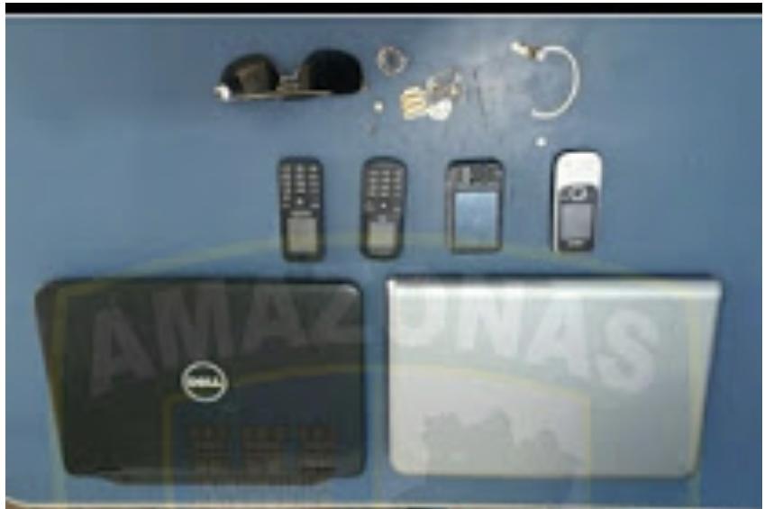 image for Prendem infratores com diversos objetos roubado
