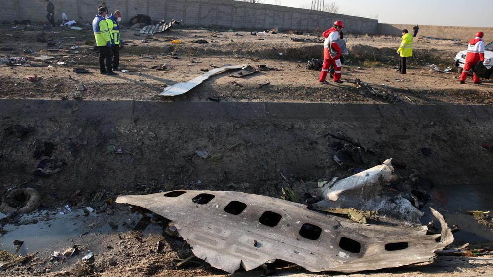 image for Ucrania pide a Irán caja negra de avión derivado intencionalmente