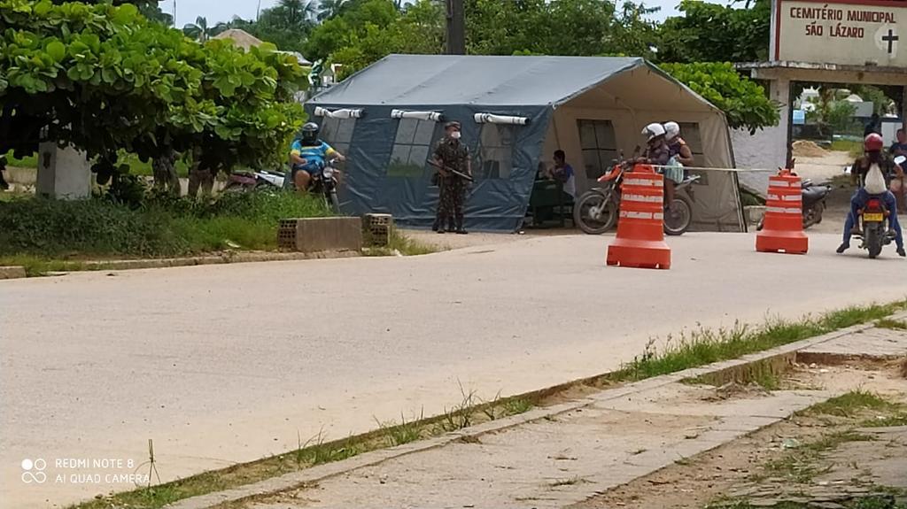 image for Exército nas ruas em Tabatinga