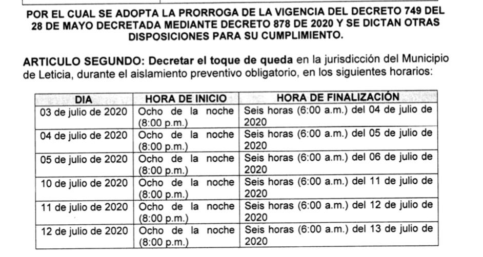 image for Toque de queda | 1 al 12 de julio | Aislamiento obligatorio | Covid-19