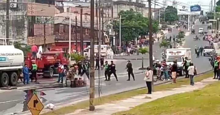 image for Fuga de gas causa  exclusión y deja varios heridos