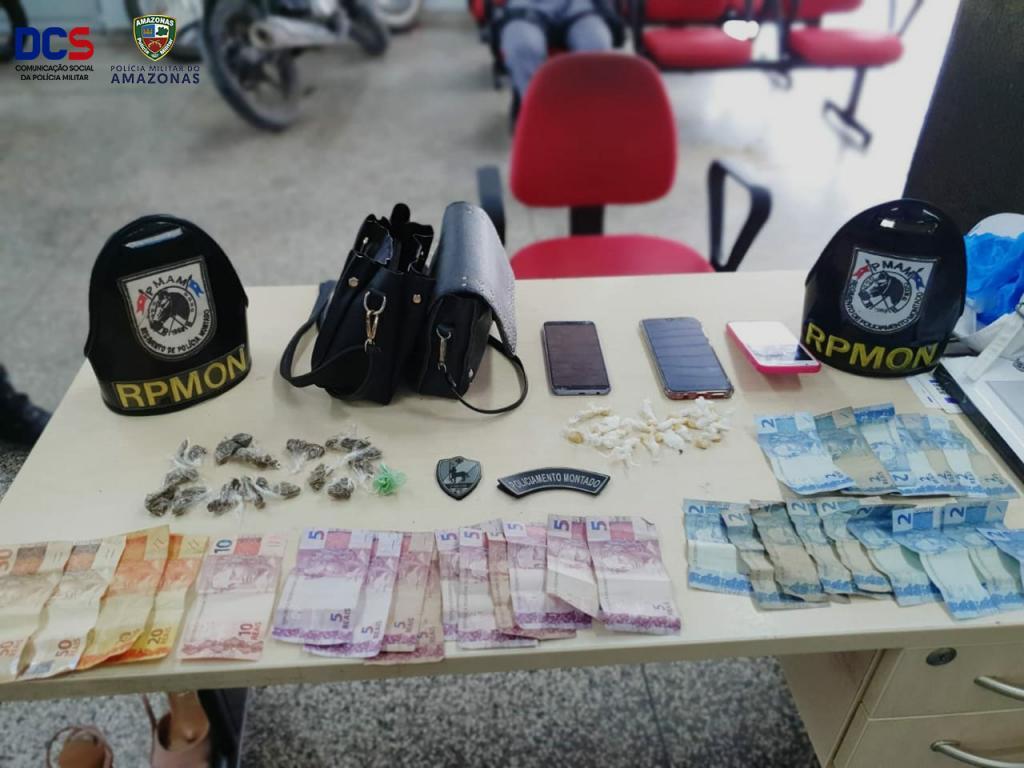 image for Polícia Militar detém trio suspeito de tráfico de drogas na Ponta Negra