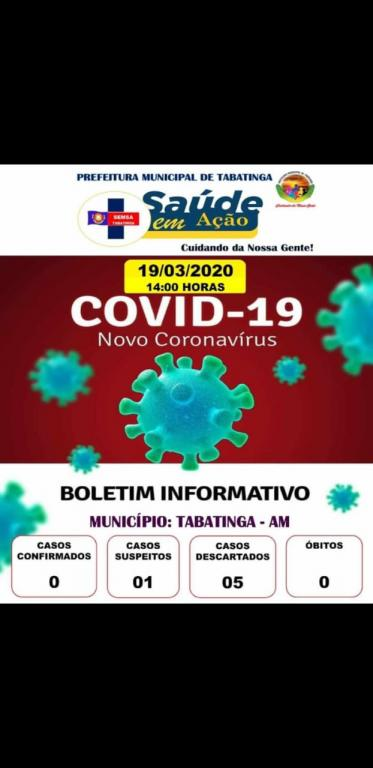 image for Caso suspeito de coronavírus em Tabatinga