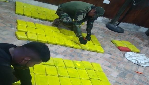 image for Polícia encontra 115 quilos de drogas enterrados na província de Putumayo