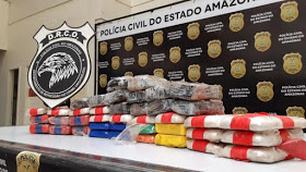 image for Colombiano é preso com 40 kg de cocaína