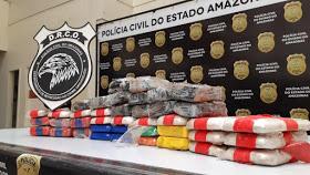 image for Colombiano é preso com 40 kg de cocaína