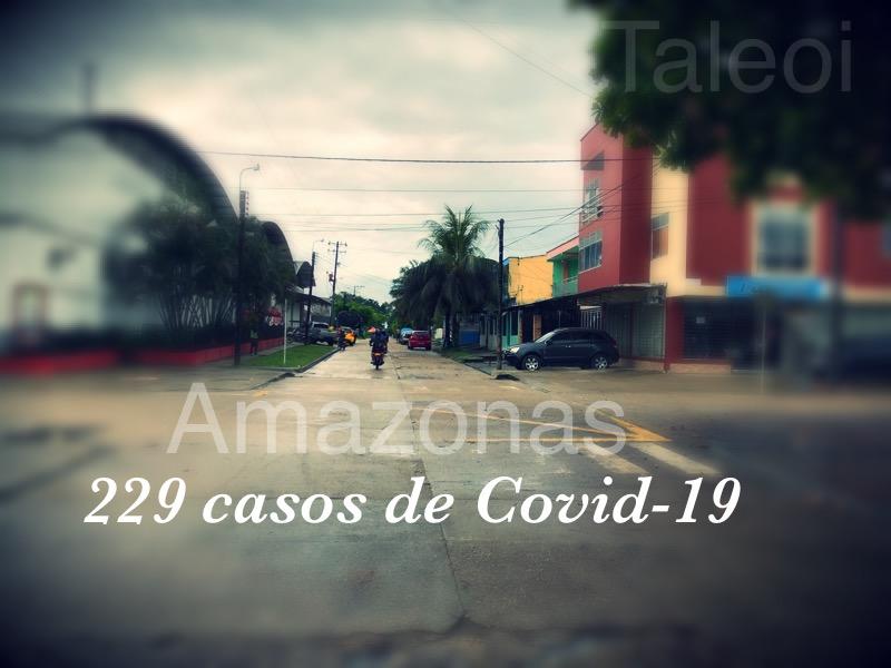 image for Amazonas llega a los 229 casos positivos de COVID-19