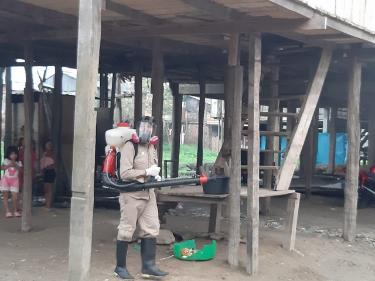 image for Fumigan zonas baja de Belén