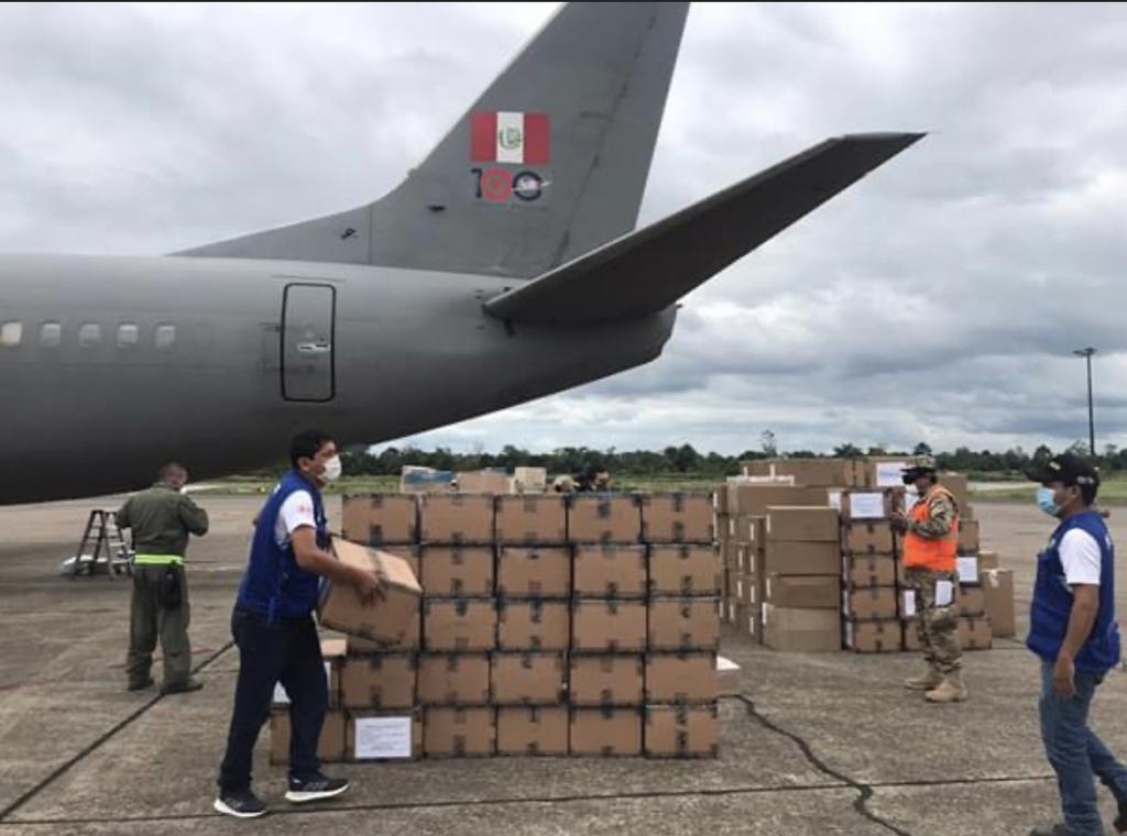 image for Equipos de protección personal y medicamentos rumbo a Iquitos