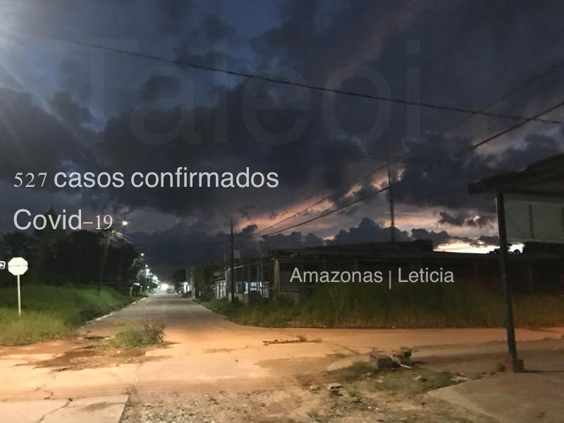 image for Amazonas registra 527 casos de Covid-19
