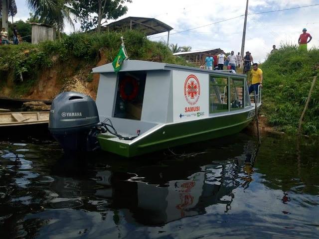 image for DSEI/ARS faz entrega de mais uma ambulancha