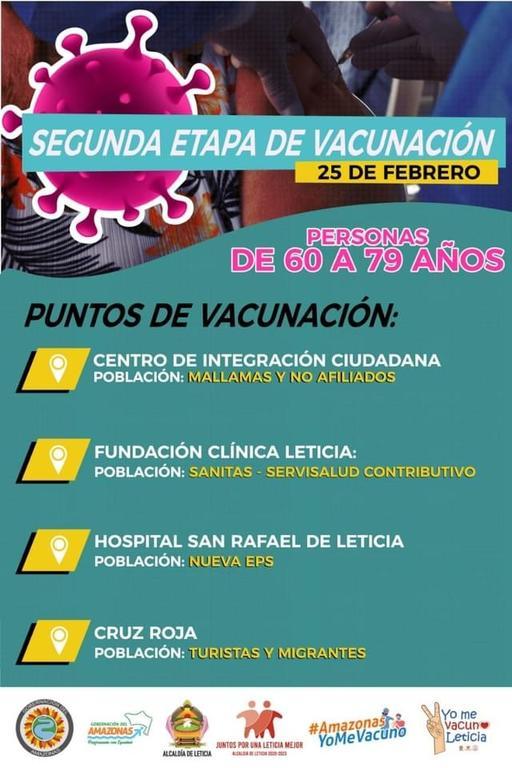 image for Segunda etapa de vacunación masiva contra COVID