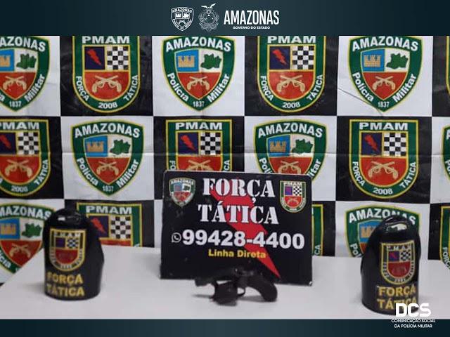 image for Força Tática apreende 12 armas de fogo e detém dois em ações