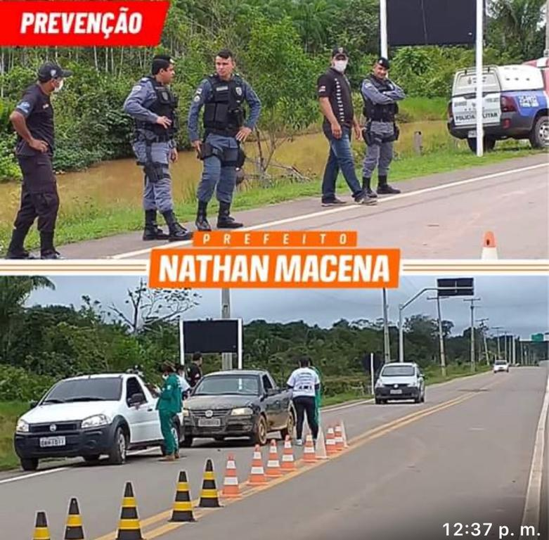 image for Prefeitura de Careiro Castanho intensificou as ações de combate ao Covid-19