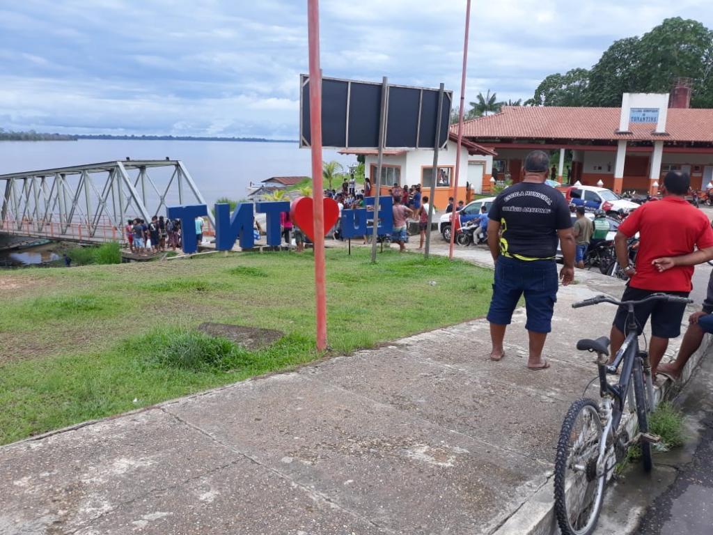 image for Porto de TONANTINS sistema reforçado polícia com vigilância sanitária