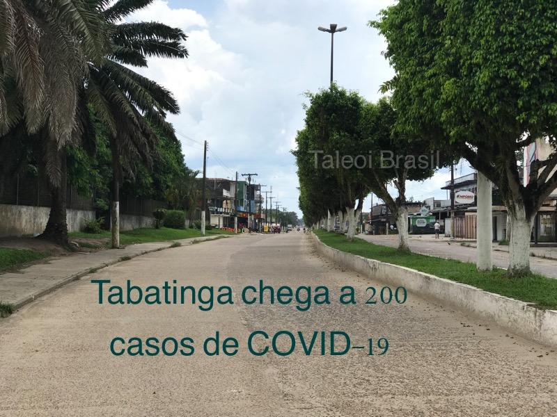 image for Tabatinga chega a 211 casos de COVID-19