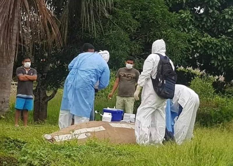 image for Preocupante situación en distrito los Trompeteros