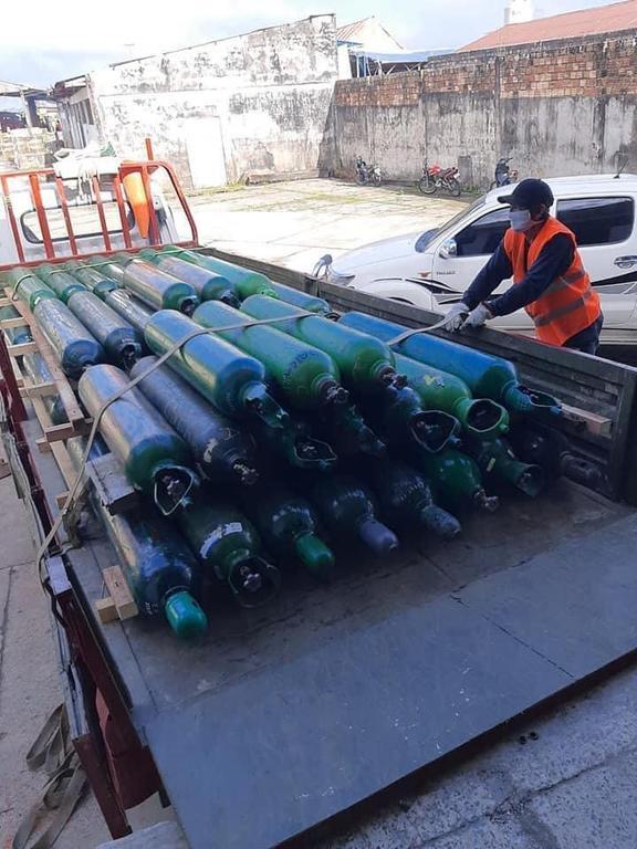 image for 51 balones de oxígeno para provincia de Datem del Marañón