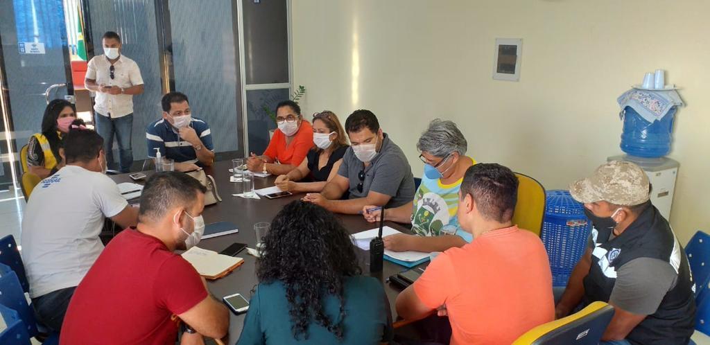 image for Reunião o Comitê Municipal de Prevenção e Combate ao Coronavírus