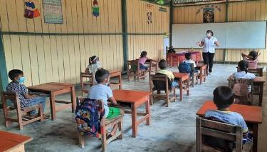 image for Instituciones Educativas rurales en Loreto | Retorno a clases presenciales
