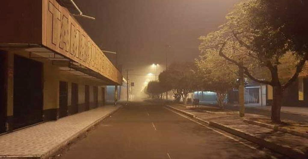 image for Cenário de filme de terror em Parintins