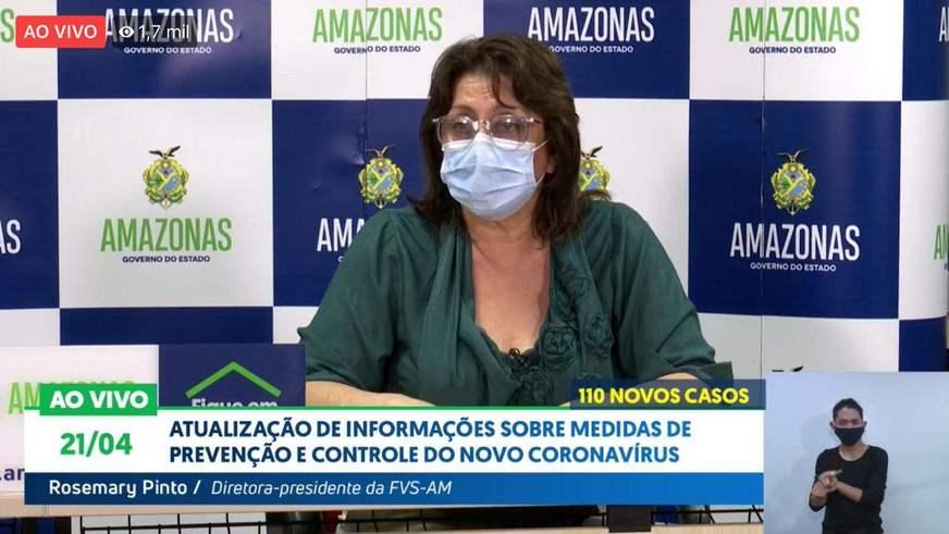 image for Amazonas tem 2270 casos confirmados de Covid-19