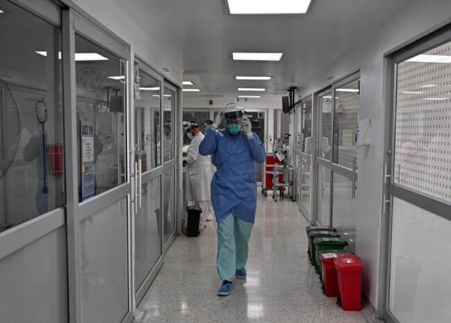 image for 539 contagiados por coronavirus en Colombia