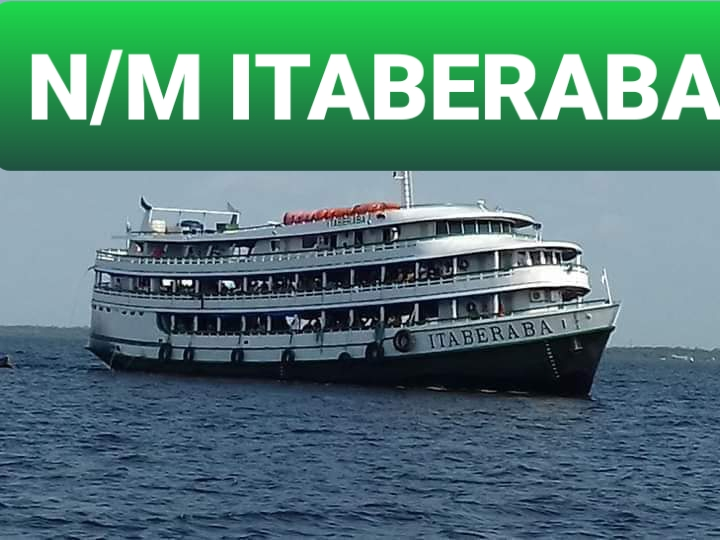 image for ITABERABA estará saindo hoje às 15h com destino à Manaus